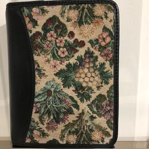 Franklin Covey Compact Binder - Leather & Tapestry
